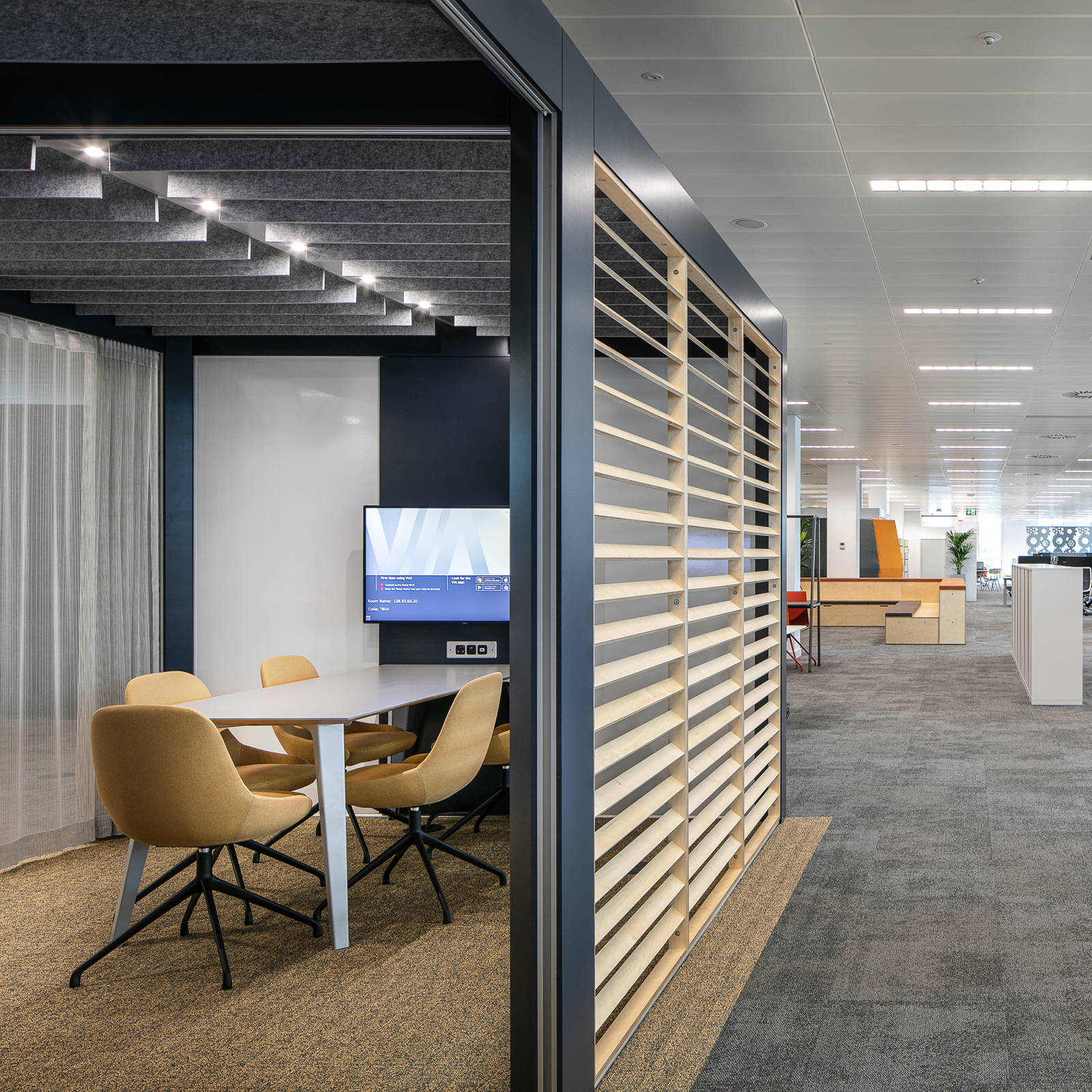 Connection Rooms office furniture HSBC