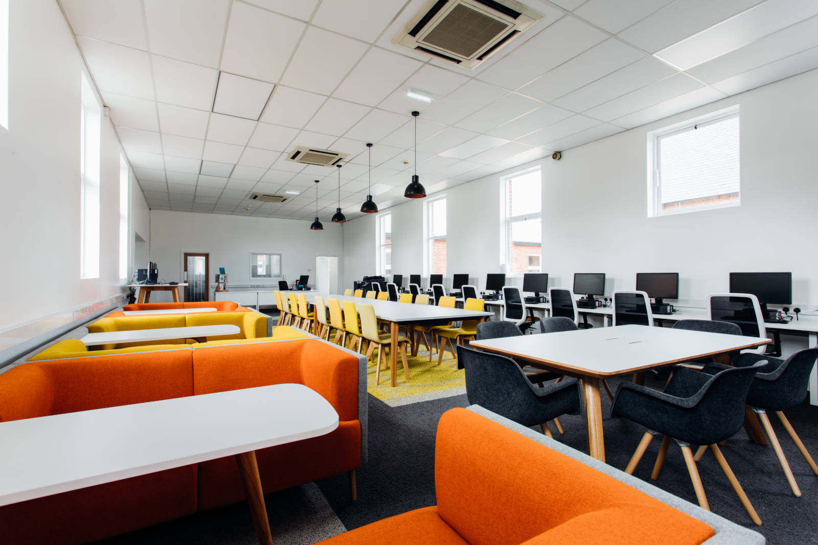 college interior