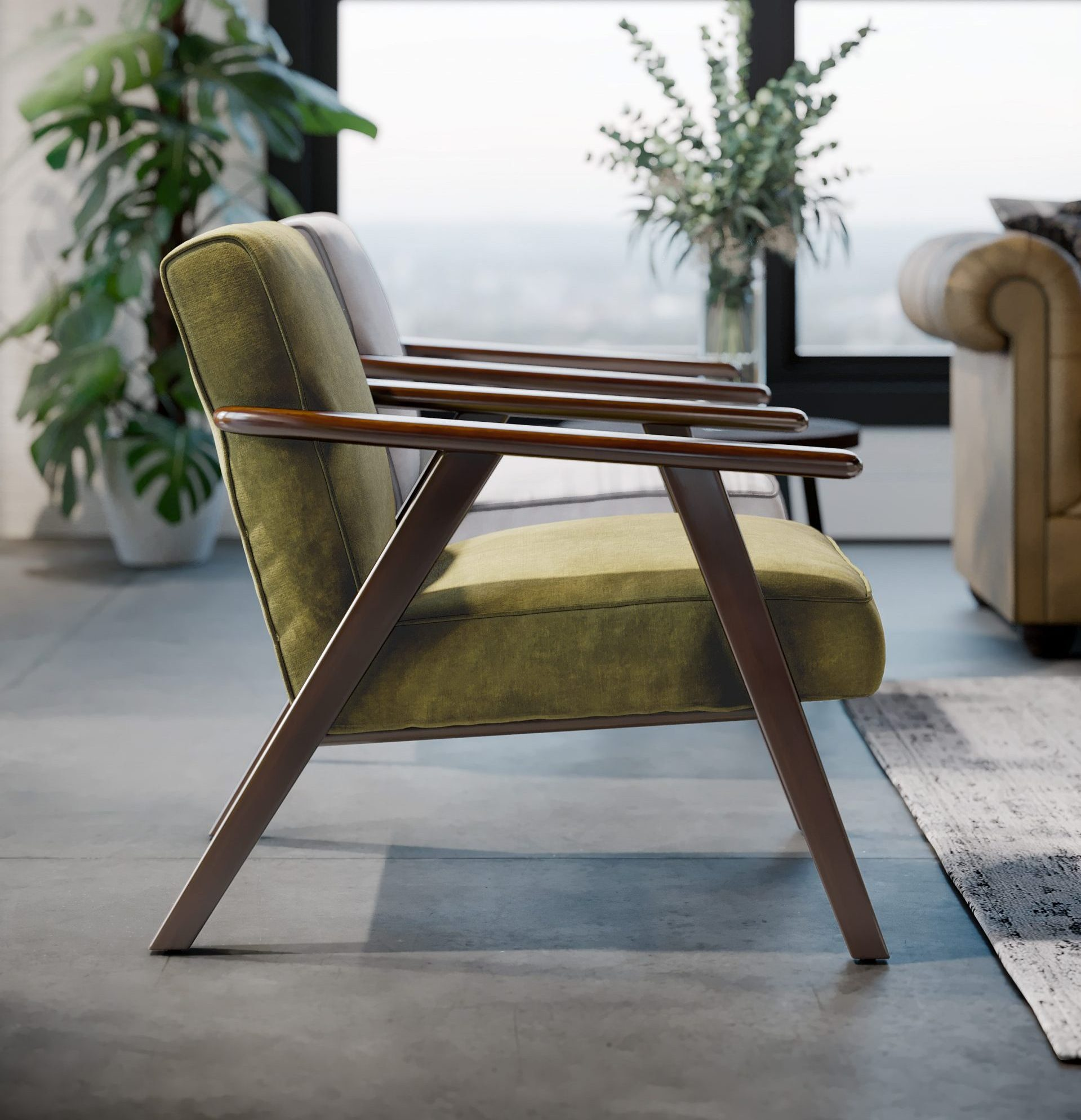 Connection Camden lounge chair