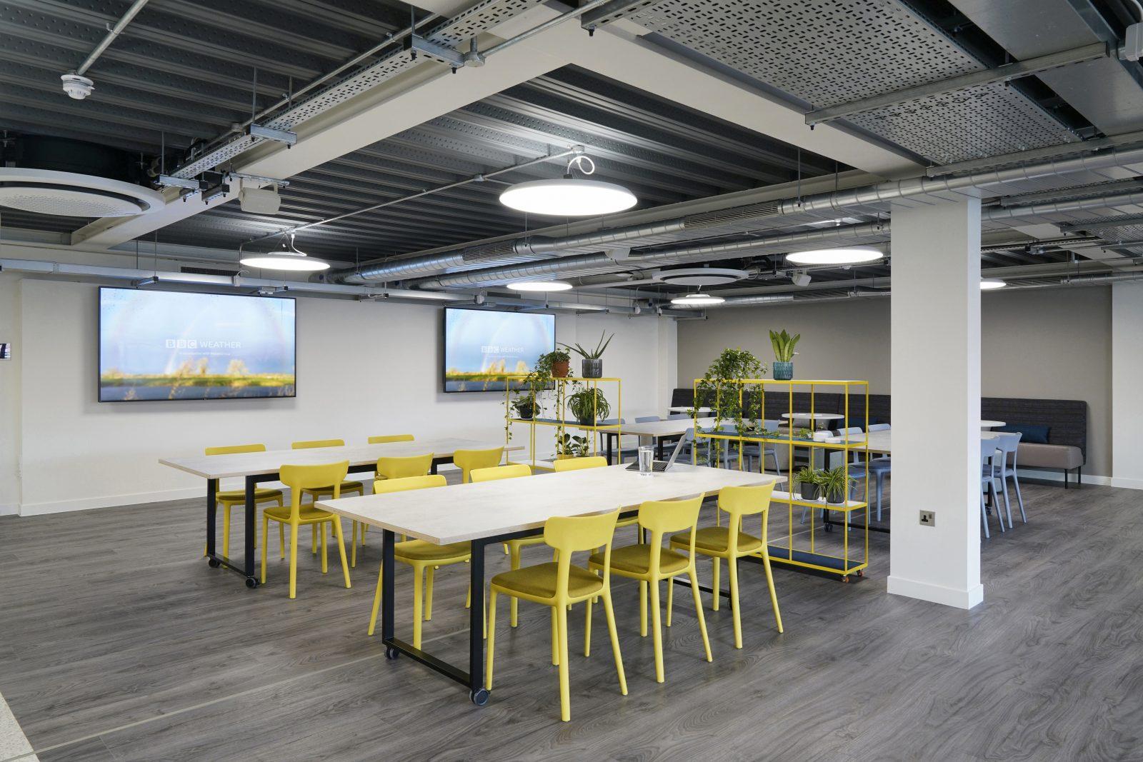 Connection Global Biotechnology Company case study Canova work cafe furniture