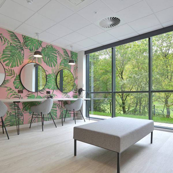Connection Ascentis case study Pear chairs workplace wellbeing room