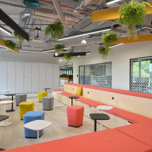 Connection Ascentis collaborative working case study Platforms seating