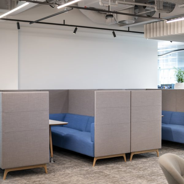 Connection Tryst booths Bank of New York case study